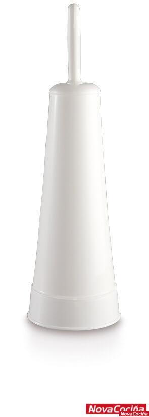 Escobillero de pie de plástico