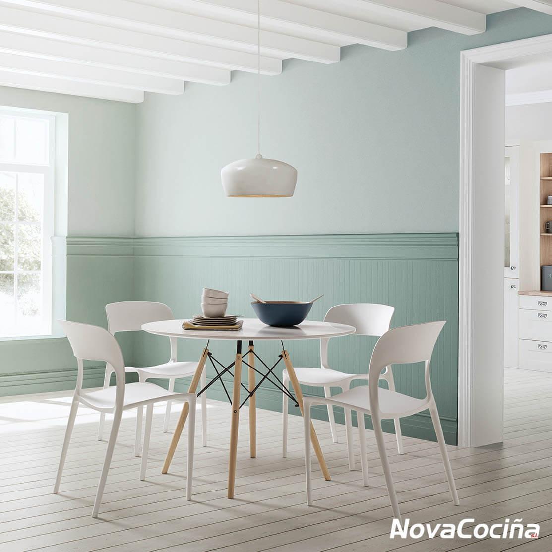 Mesa redonda de cocina o salón ARA | ANova Cociña