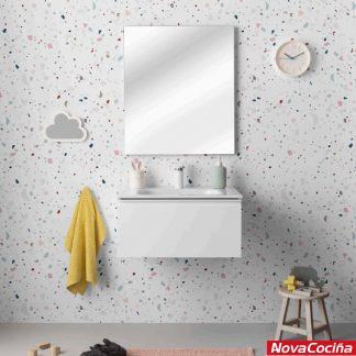 Conjunto completo de baño modular VIDA