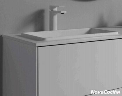 lavabo de linea minimalista blaco