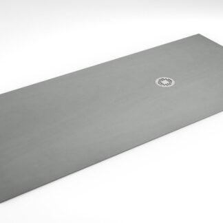 Plato de ducha ultrafino NEOLITH color gris