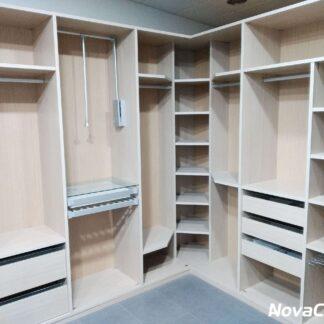 armario-vestidor-abierto color madera