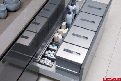 Cubos de basura inox
