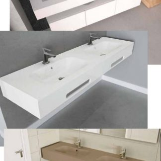 lavabo doble gelbath