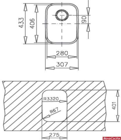 Fregadero Teka E501C 'KC 1