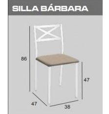 silla de cocina barbara