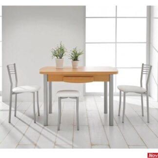 conjunto mesa kombi laminado extensible
